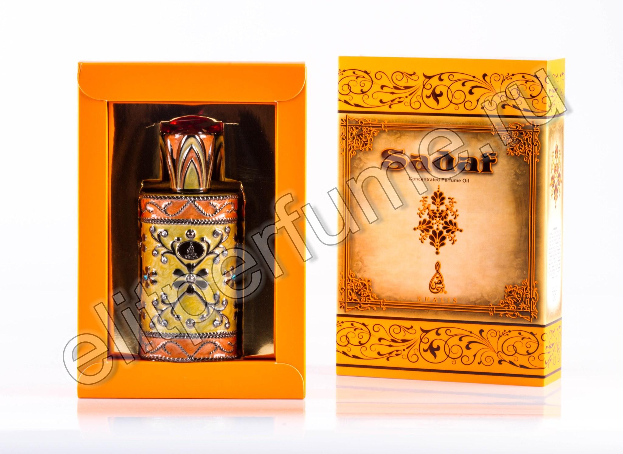 Sadaf Садаф 18 мл Унисекс арабские масляные духи от Халис Khalis Perfumes