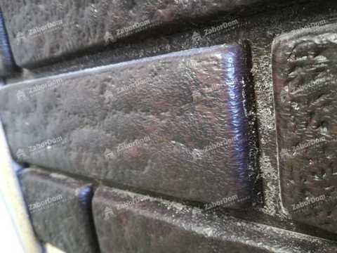 Сайдинг Ю пласт Стоун Хаус коричневый 3035х230 мм
