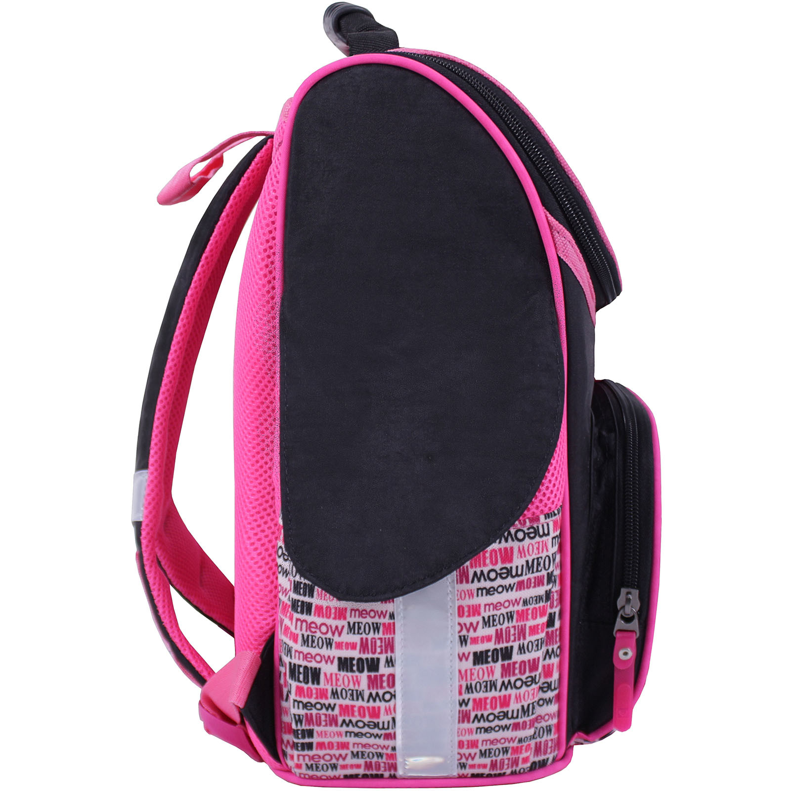 Рюкзак школьный каркасный Bagland Успех 12 л. Черный 364 (00551702) фото 2