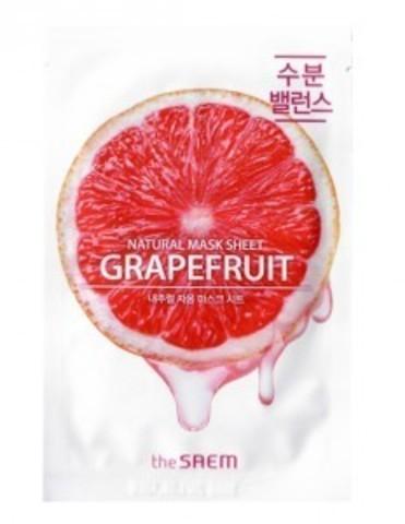 the Saem Natural Grapefruit Mask Sheet