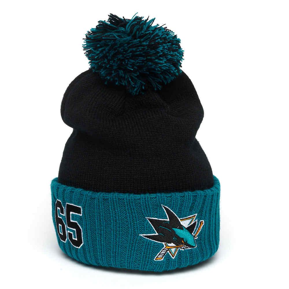 Шапка NHL San Jose Sharks № 65