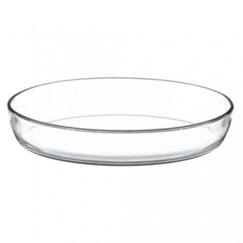 Овальная форма для запекания 3,2 литра Borcam 59074 форма для выпечки жаропрочная стеклянная 34,5х24,8 см коробка