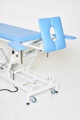 Массажный стол с электроприводом КСМ-041э с Регистрационным удостоверением