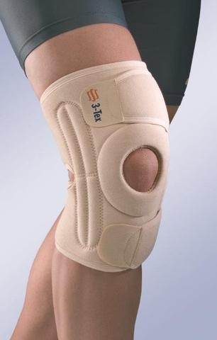 Окутывающий коленный бандаж с усиленной боковой частью 6119