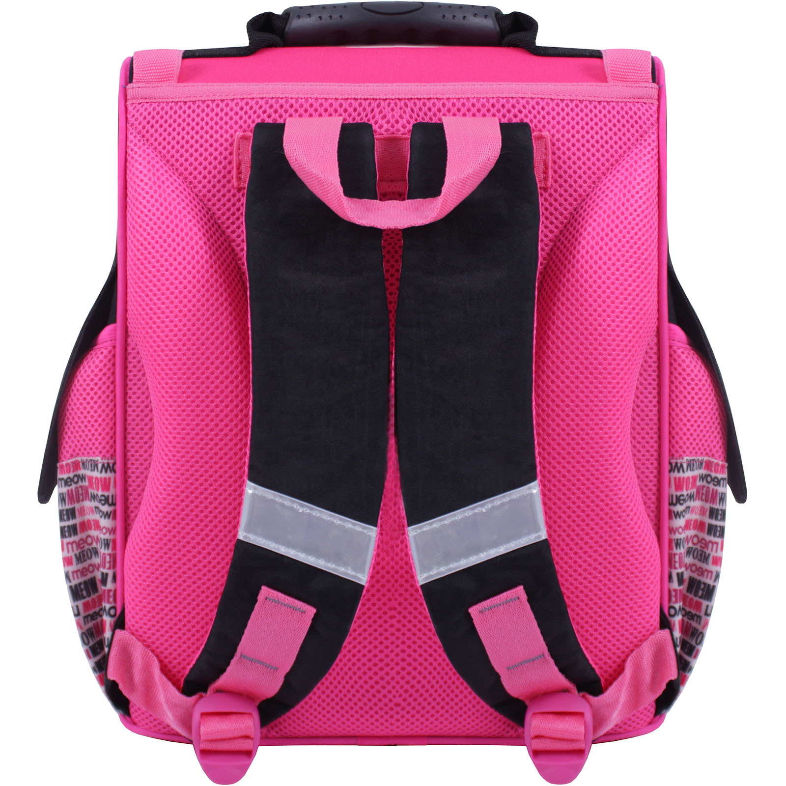 Рюкзак школьный каркасный Bagland Успех 12 л. Черный 364 (00551702) фото 3