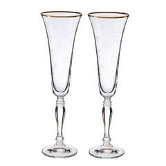 Набор бокалов свадебный «Виктория», 180 мл, фото 6