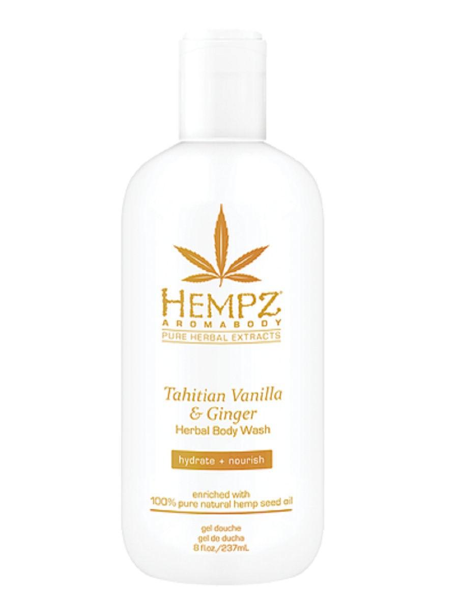 Гель для душа HEMPZ Tahitian Vanilla & Ginger Herbal Body Wash 237 мл