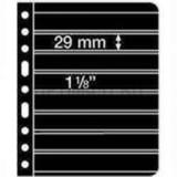 Лист VARIO для телефонных карт, 8 ячеек,Варио двусторонний, с черной основой