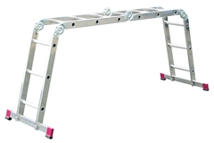 Универсальная шарнирная лестница CORDA 4х3