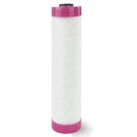 Картридж Fe 20BB Аквапост (очистка воды от растворенного железа, марганца и тяжелых металлов, розовый фланец)