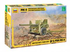 Британская 6-ти фунтовая  противотанковая пушка МК-II