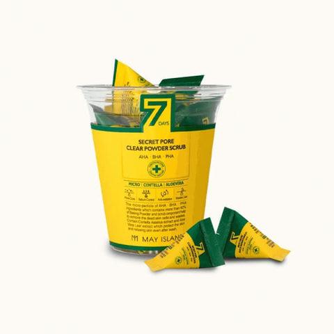 May Island Очищающий скраб для лица 7 Days Secret Pore Clear Powder Scrub, 5 гр