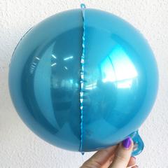 К 3D СФЕРА Металлик Blue,10
