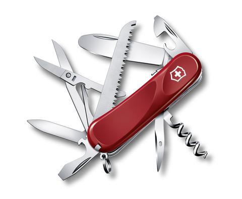 Нож Victorinox Junior 03, 85 мм, 15 функций, красный