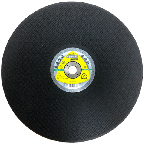 Круг отрезной для резки рельсов 400х4х25,4 100 м/с (ИМПОРТ)