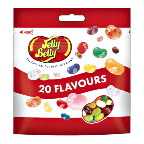 Jelly belly 20 flavours Джелли Белли 20 вкусов 70 гр