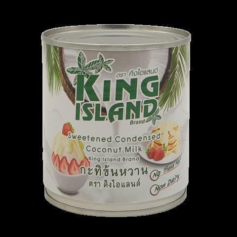 Кокосовое сгущенное молоко KING ISLAND, 380 гр