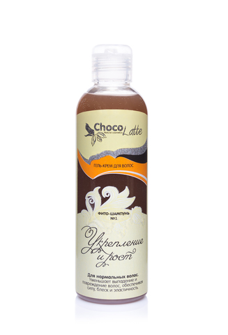 ФИТО-ШАМПУНЬ №1 Для укрепления и роста нормальных волос, 200ml TM ChocoLatte