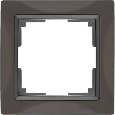 Werkel Рамка W0012007 (WL03-Frame-01) серо-коричневый basic