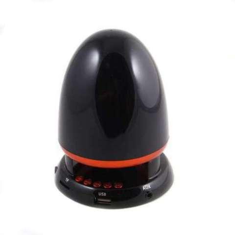 Колонка LC-800 (пуля) (радио, microSD, USB, AUX)