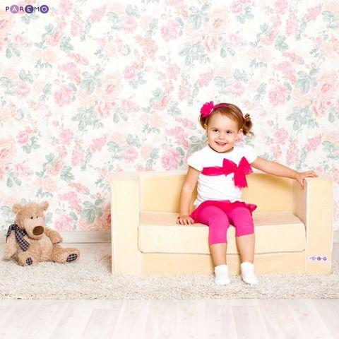 Раскладной игровой диванчик, цв. Бежевый
