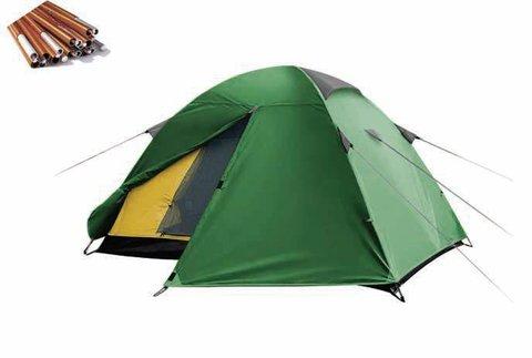 Палатка Canadian Camper Jet 3 (серый/голубой)