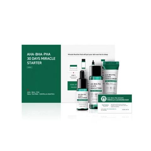 Набор для проблемной кожи с кислотами SOME BY MI AHA.BHA.PHA 30 Days Miracle Starter Kit
