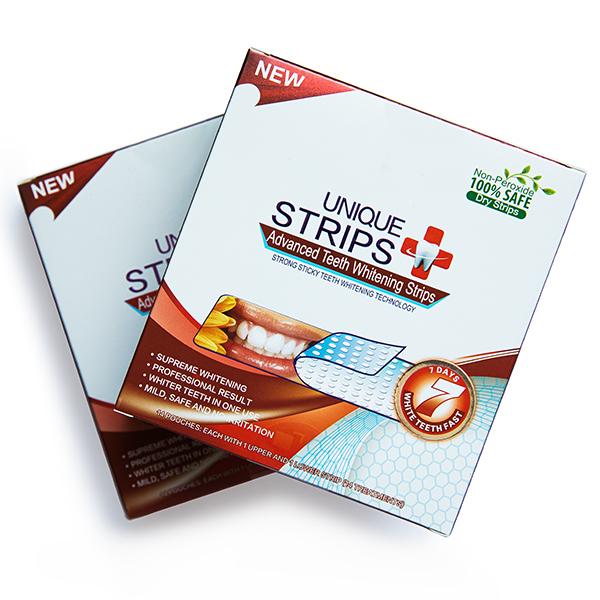 Отбеливающие полоски Unique Strips Intensive