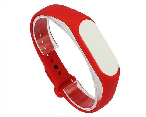 Ремешок для Xiaomi Mi Band 3/4 силиконовый | красный