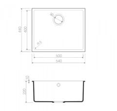 Схема Omoikiri Bosen 54-U-CH