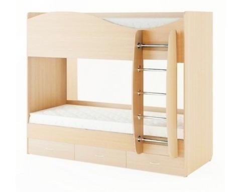 Кровать КР-05 дуб беленый