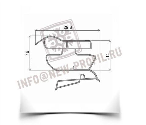 Уплотнитель для холодильника Индезит SB200.027 х.к, 1010*570мм(022)