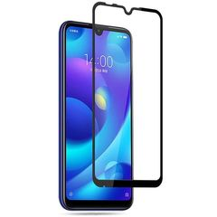 Защитное стекло с рамкой для Xiaomi Mi Play Черное