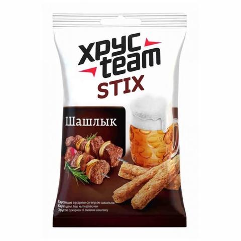 Сухарики XPYCTEAM Stix Шашлык 75 г м/у РОССИЯ