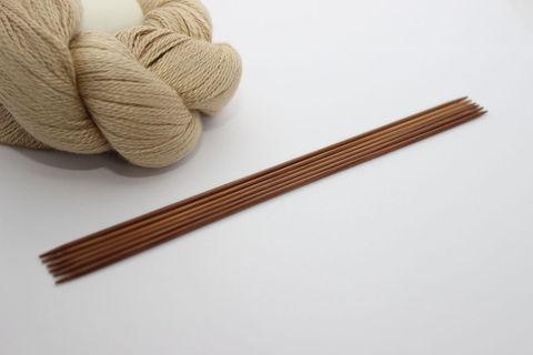 ChiaoGoo Спицы чулочные длиной 15 см темные