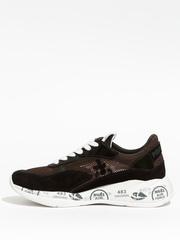 Комбинированные кроссовки Premiata Scarlett 5250 на шнуровке