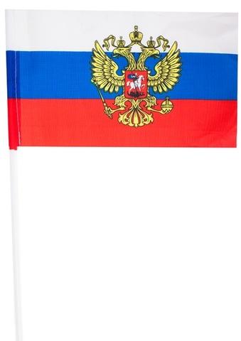 Флаг России на палочке - Магазин тельняшек.ру 8-800-700-93-18Флажок