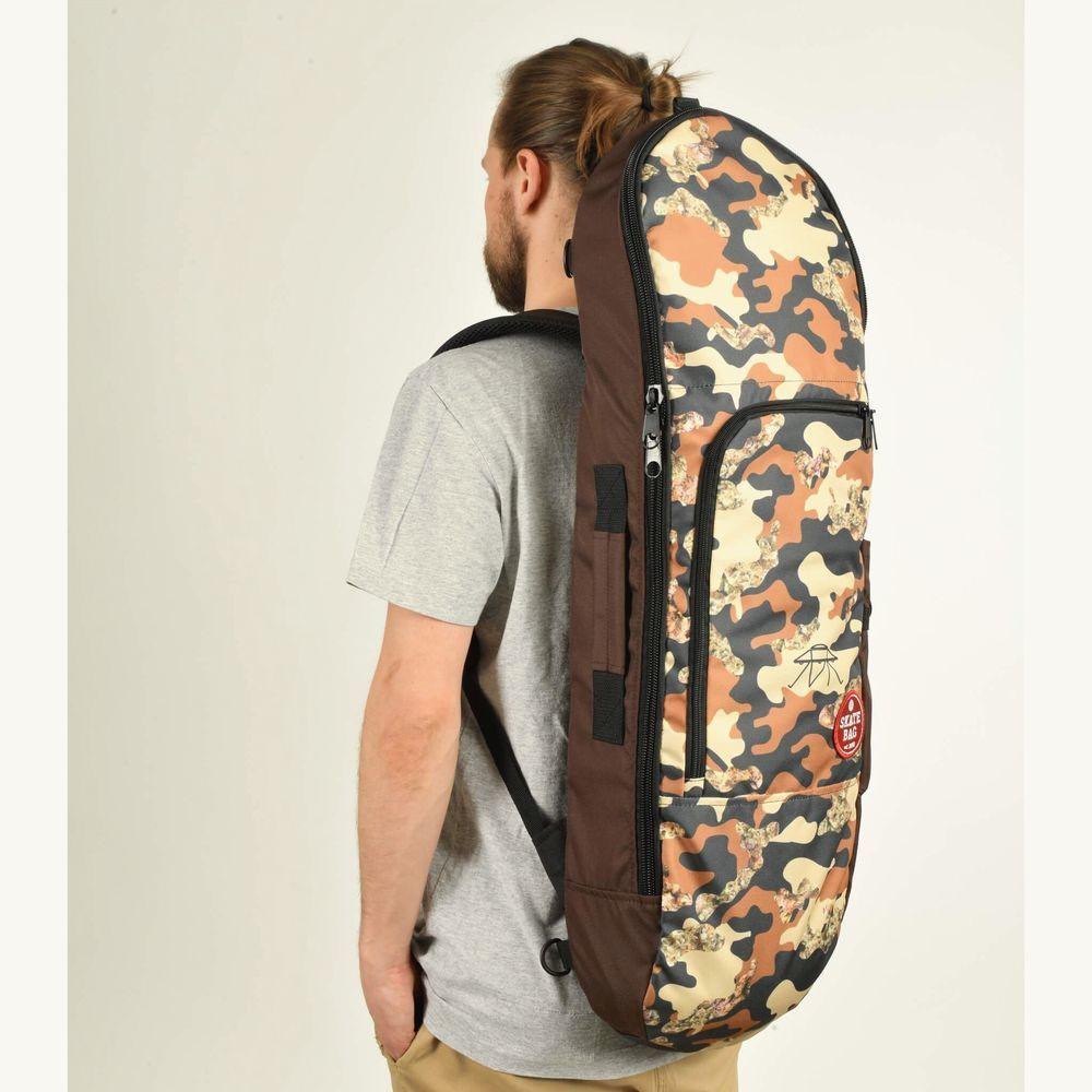 Чехол для скейтборда SKATE BAG Trip (Brown/SBR Camo Print)