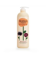 ДП HAIR Шампунь-бальзам 2 в 1 черника DEOPROCE ORIGINAL SHINY CARE 2 IN 1 SHAMPOO BLUEBERRY 1000ml 1