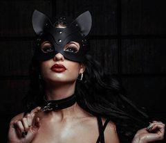 Кожаная маска