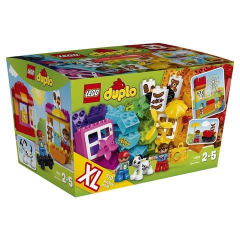 LEGO Duplo: Набор для творческого конструирования 10820 — Creative Construction Basket — Лего Дупло