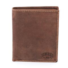 Бумажник Klondike Yukon, коричневый, 10х2х12,5 см
