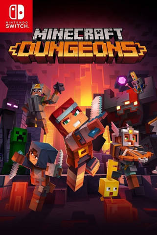 Minecraft Dungeons. Hero Edition (Nintendo Switch, русская версия)