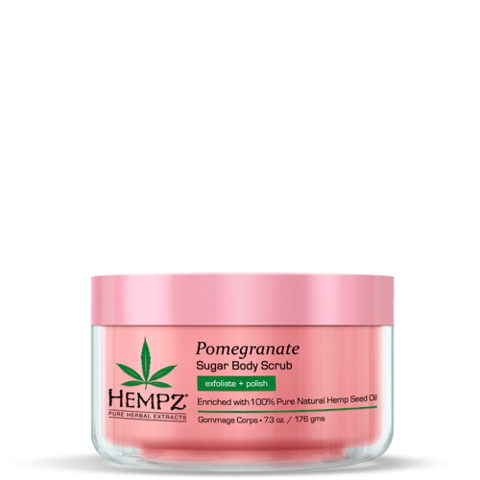 Скраб для тела Сахар и Гранат / Hempz Body Scrub - Sugar & Pomegranate