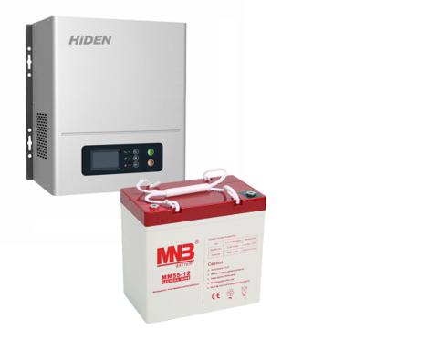 Комплект ИБП HPS20-0312N-АКБ MM55 (12в, 300Вт)