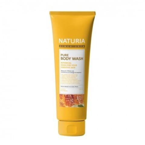 Гель для душа с лилией и медом Evas Naturia Pure Body Wash Honey & White Lily 100ml