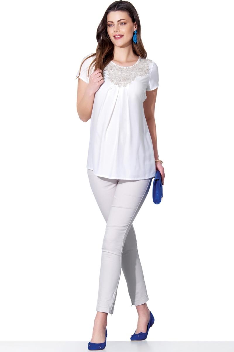 Блузка для беременных 01391 белый