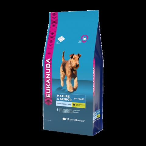 Eukanuba Mature & Senior Large Breed Сухой корм для пожилых собак крупных пород
