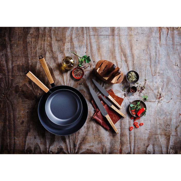 Сковорода вок NOMAD (20 см)