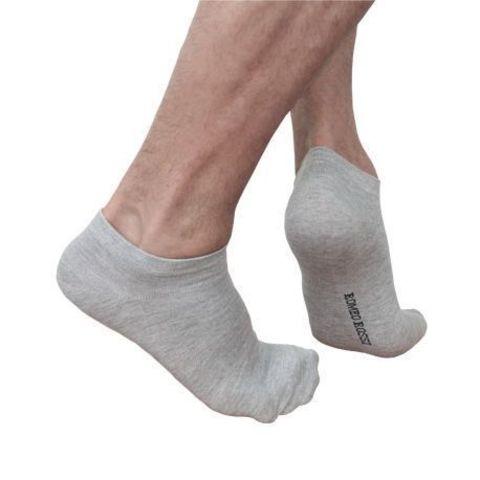 Мужские носки короткие спортивные серые Romeo Rossi Grey RR00706